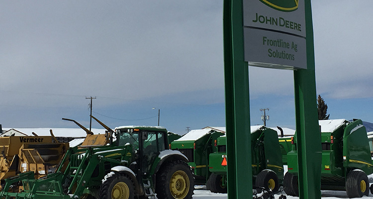 Lewistown Location | Frontline Ag Solutions | Montana | John Deere Equipment
